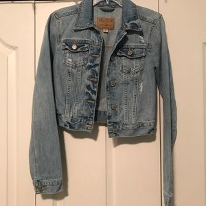 jean jacket from Hollister